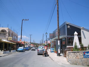 The main street through Argasi