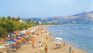 Laganas - the biggest resort